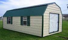 Gambrel portable building