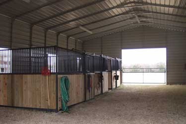 Horse barns and agricultural buildings gallery