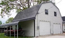 Gambrel Barn Metal Building Kit
