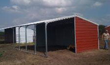 Horse Shelter Kits, Barns, and Agriculture Buildings