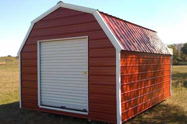 Portable metal building picture gallery for Gambrel barn prices