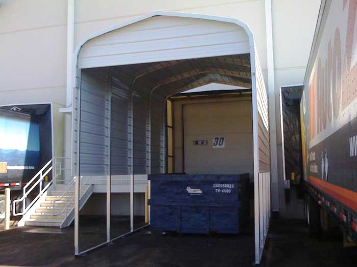 Loading dock cover / canopy