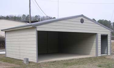 combo carport storage building gallery. Black Bedroom Furniture Sets. Home Design Ideas