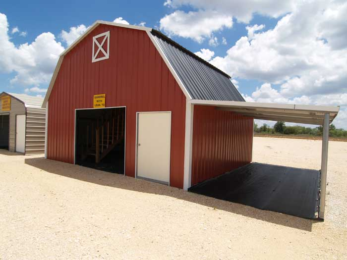 Metal Barn Building Plans