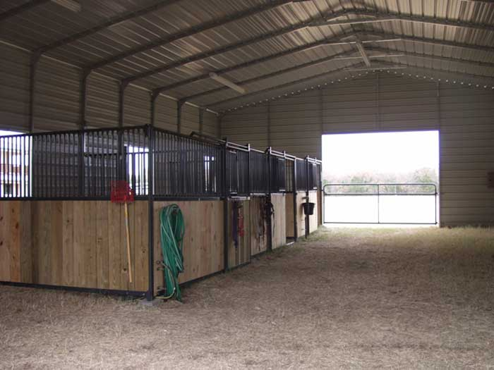 Metal Horse Barn Kits