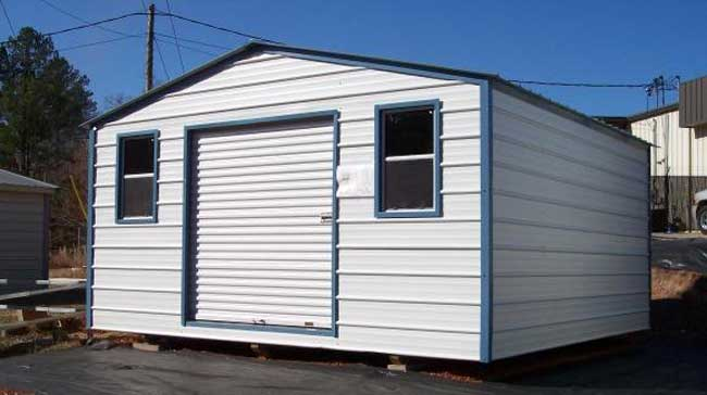 Portable Metal Building 16' Wide