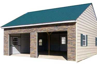 Custom metal buildings