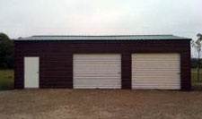 Steel garage and Workshop