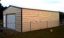 HOA compliant metal garage
