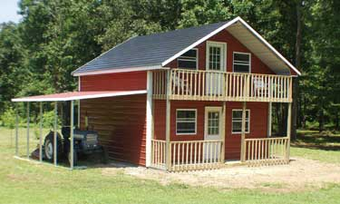 Metal buildings alabama for 2 story garage kits for sale