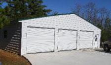 Metal garage kits garages made in alabama for 3 car garage kits